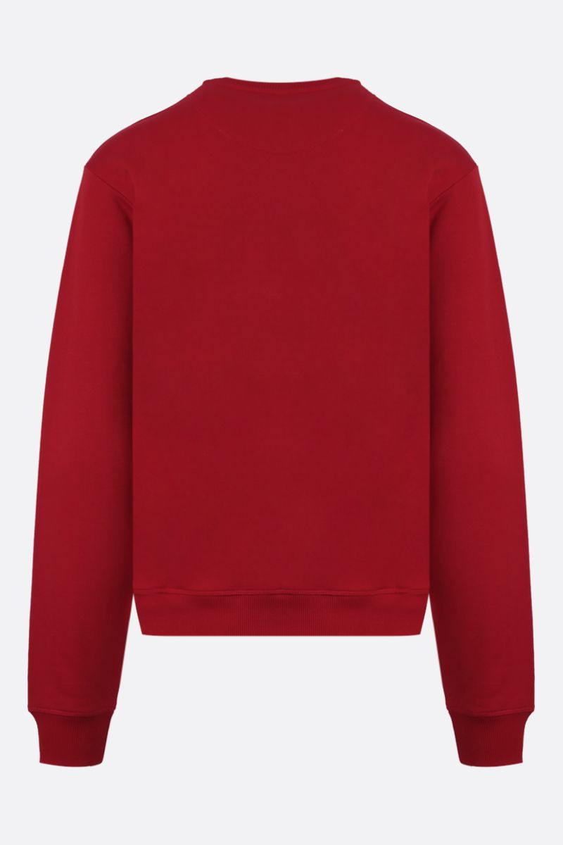 KENZO: Tiger cotton sweatshirt Color Red_2