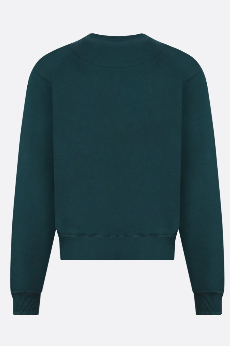 KENZO: Tiger cotton sweatshirt Color Green_2