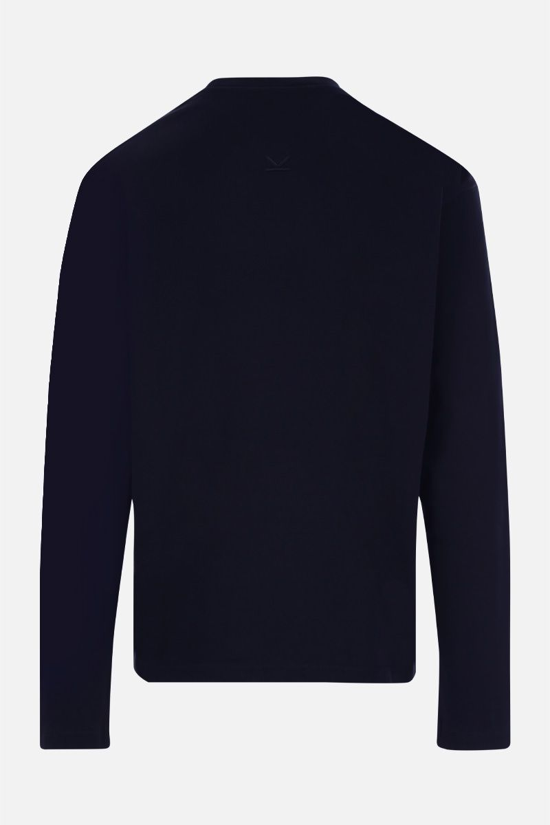 KENZO: Tiger cotton sweatshirt Color Blue_2