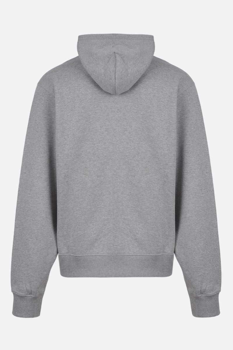 KENZO: Kenzo Logo cotton hoodie Color Grey_2