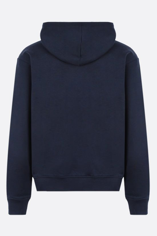 KENZO: Tiger cotton hoodie Color Blue_2
