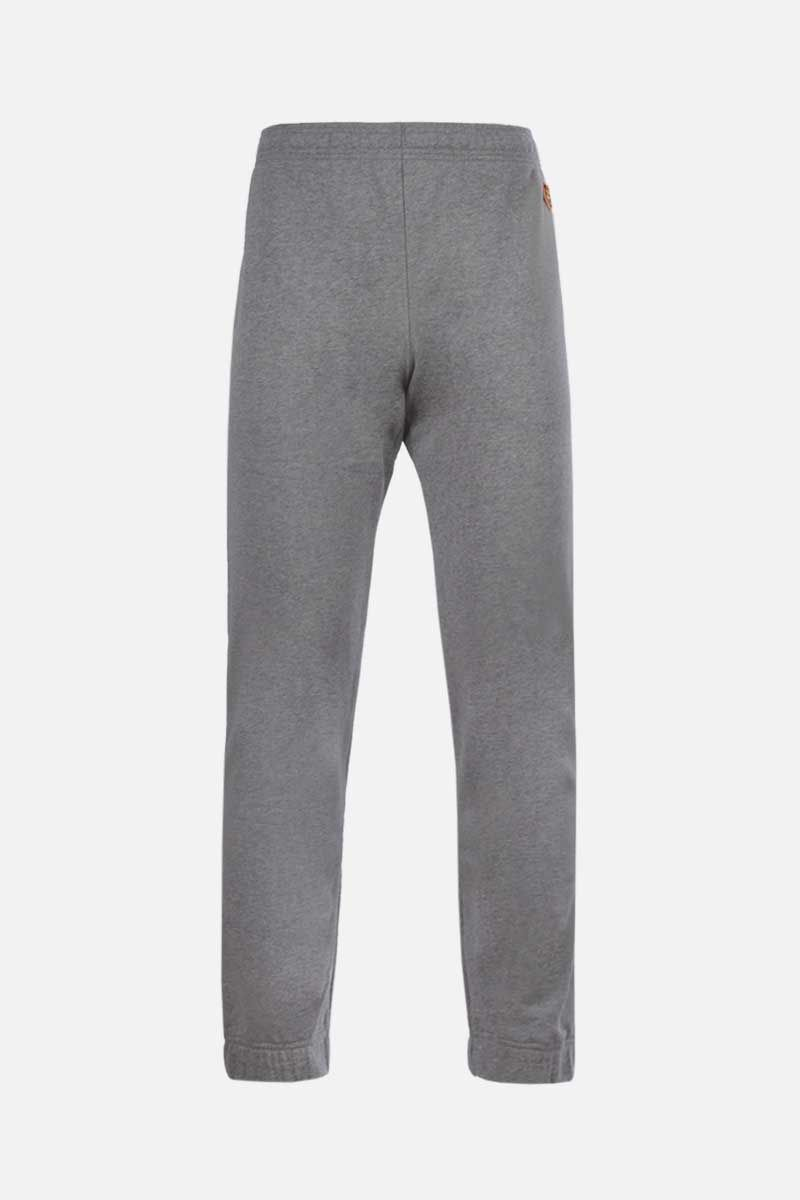 KENZO: Tiger Crest cotton joggers Color Grey_1