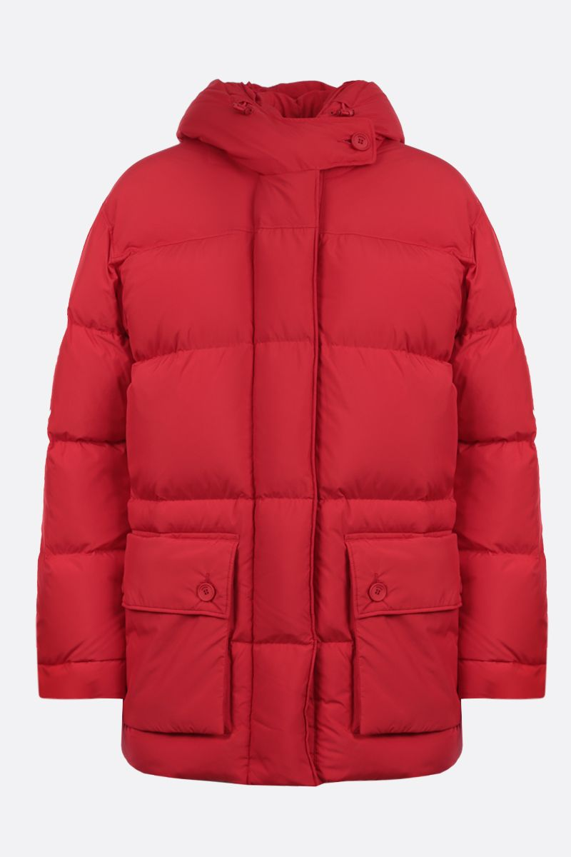 KENZO: Kenzo Sport nylon down jacket Color Red_1