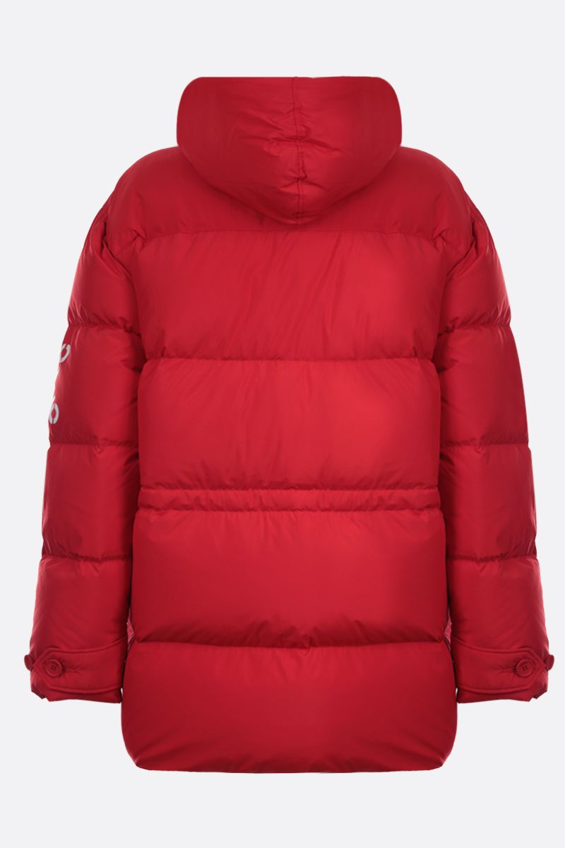 KENZO: Kenzo Sport nylon down jacket Color Red_2
