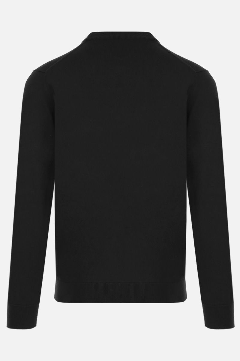 KENZO: Tiger Crest wool pullover Color Black_2