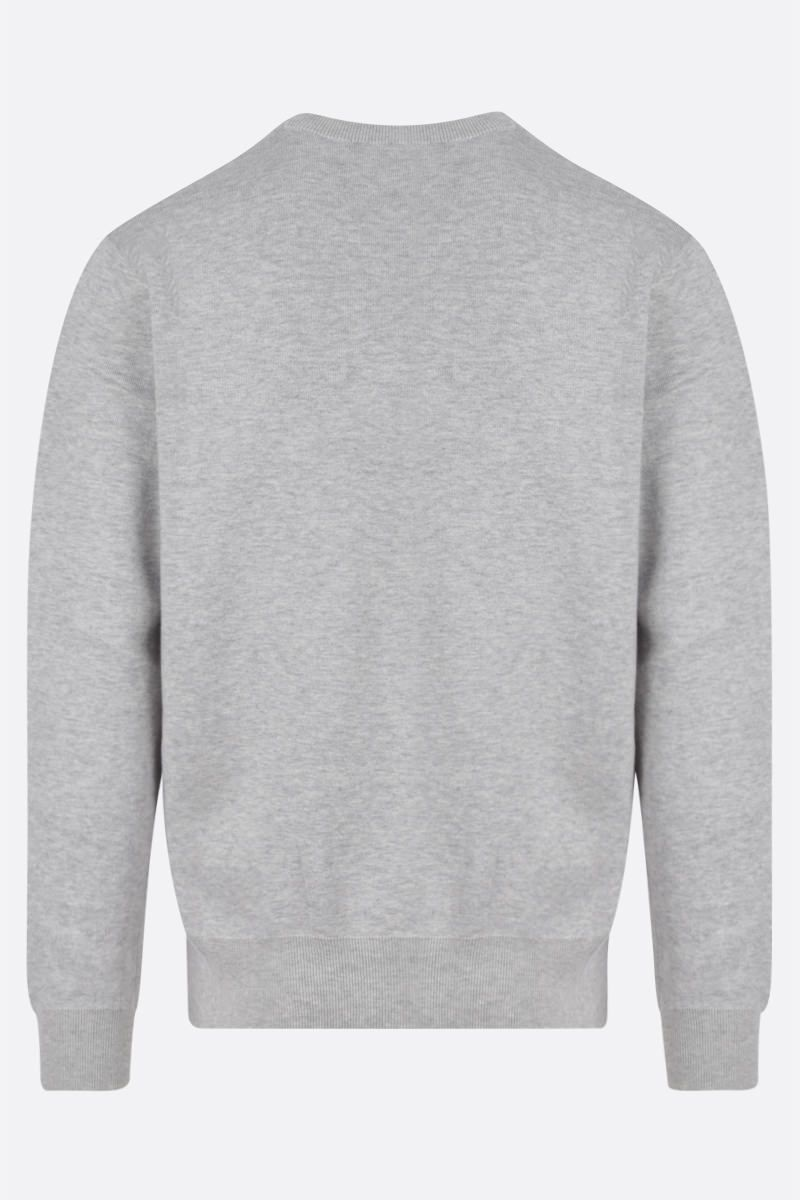 KENZO: Tiger wool cotton blend pullover Color Grey_2