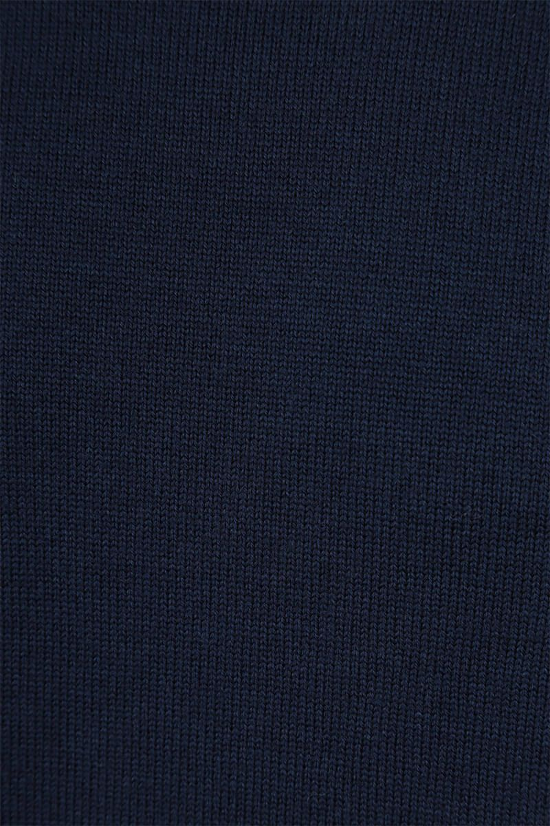 KENZO: Tiger Crest wool pullover Color Blue_4