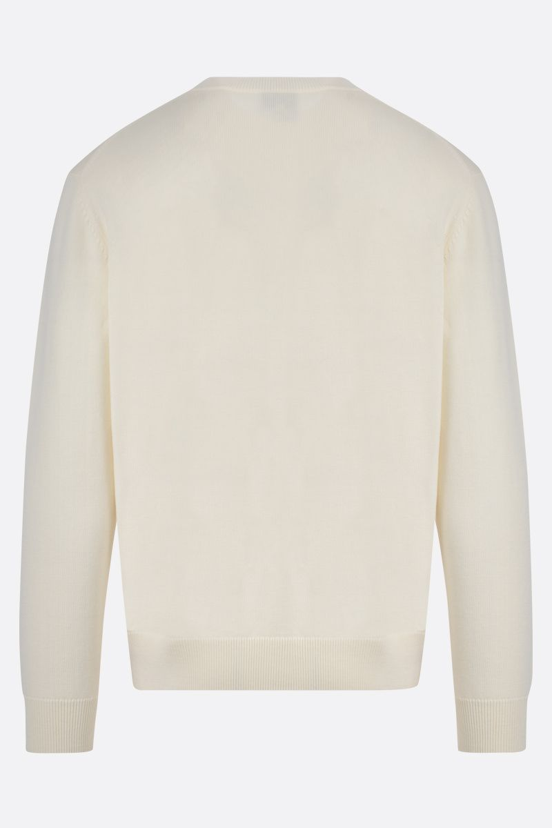 KENZO: Kenzo Logo wool pullover Color Neutral_2