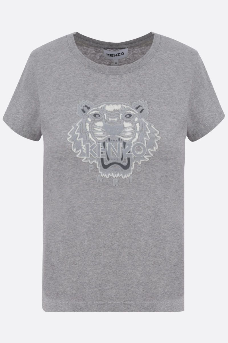 KENZO: Tiger cotton t-shirt_1