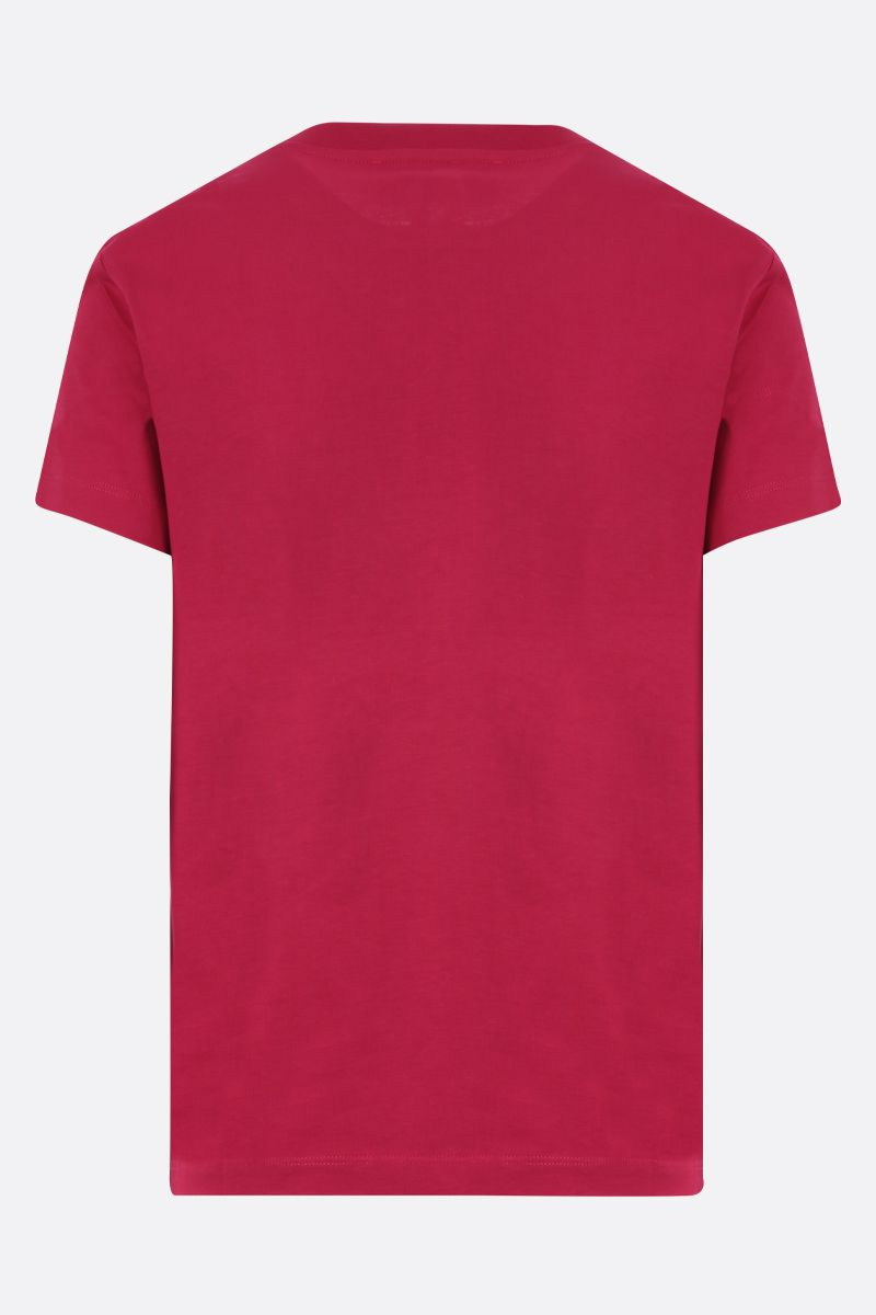 KENZO: Kenzo Logo cotton t-shirt Color Red_2