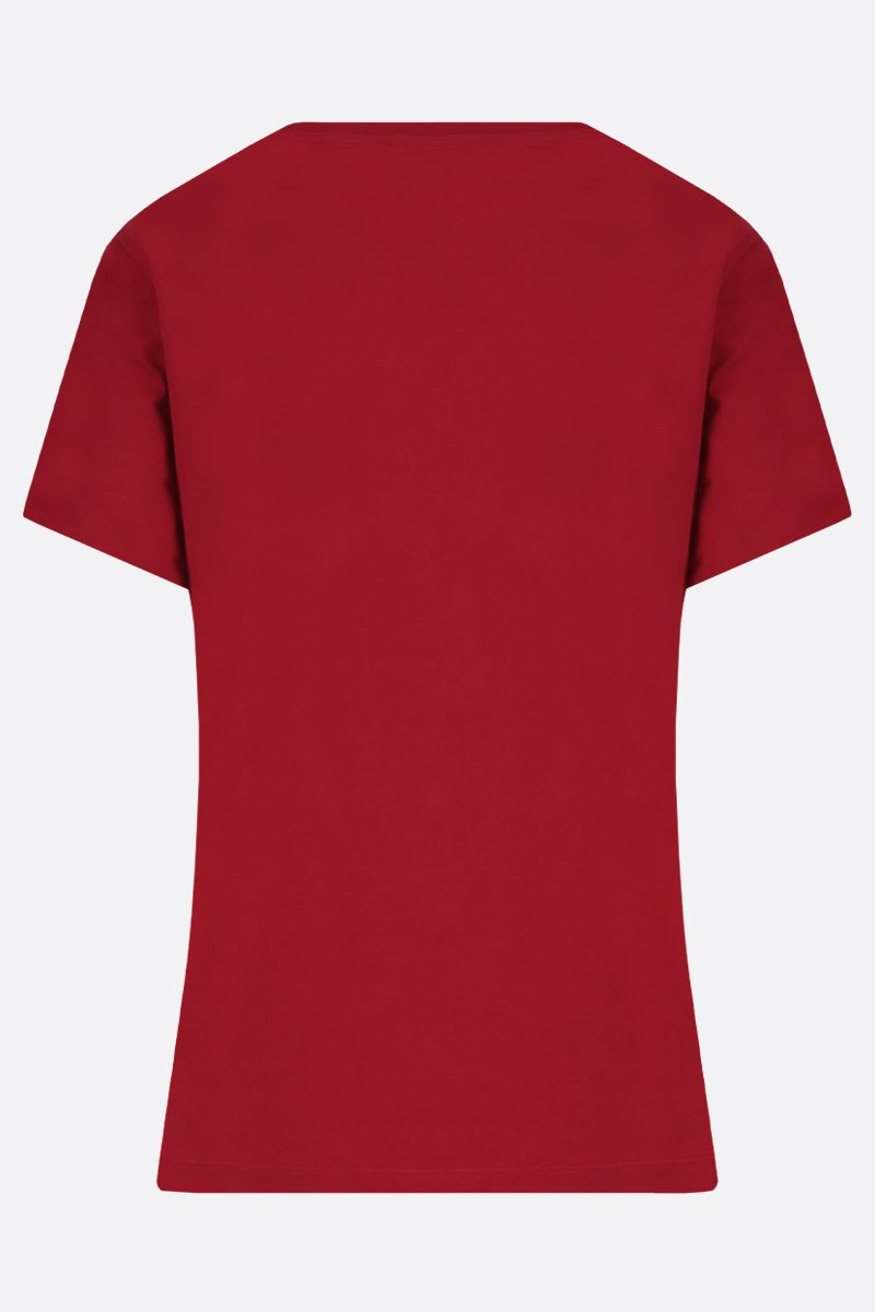 KENZO: Tiger cotton t-shirt Color Red_2
