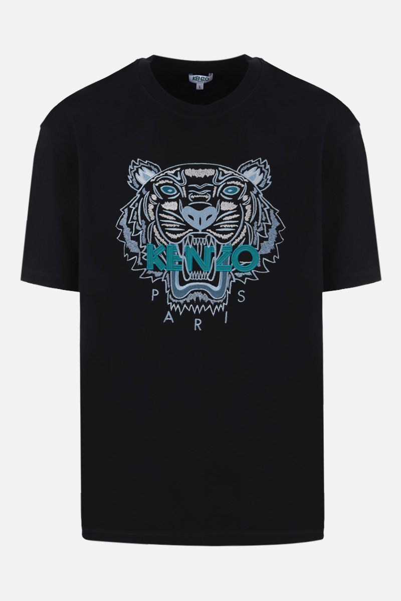 KENZO: Tiger cotton t-shirt Color Black_1