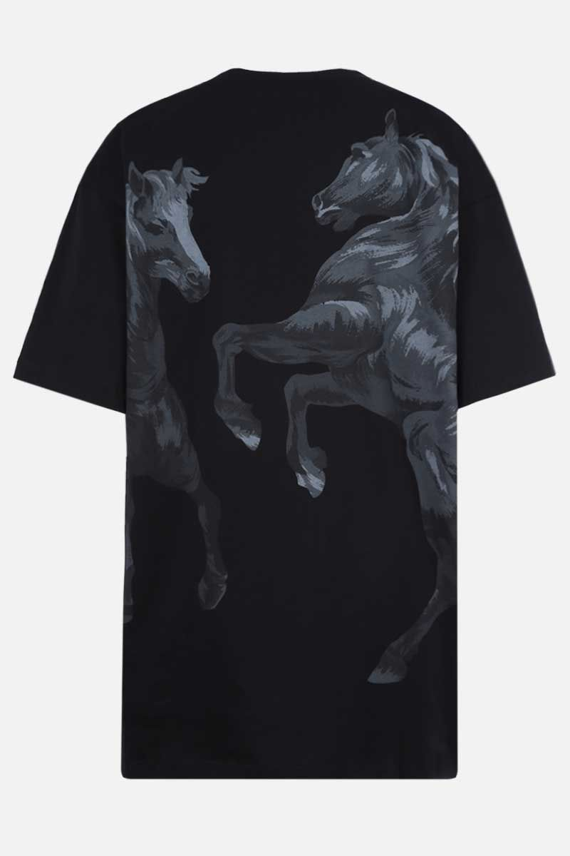 KENZO: Chevaux Kenzo oversize cotton t-shirt Color Black_2