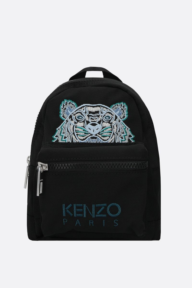 KENZO: Kampus Tiger mini nylon backpack Color Black_1