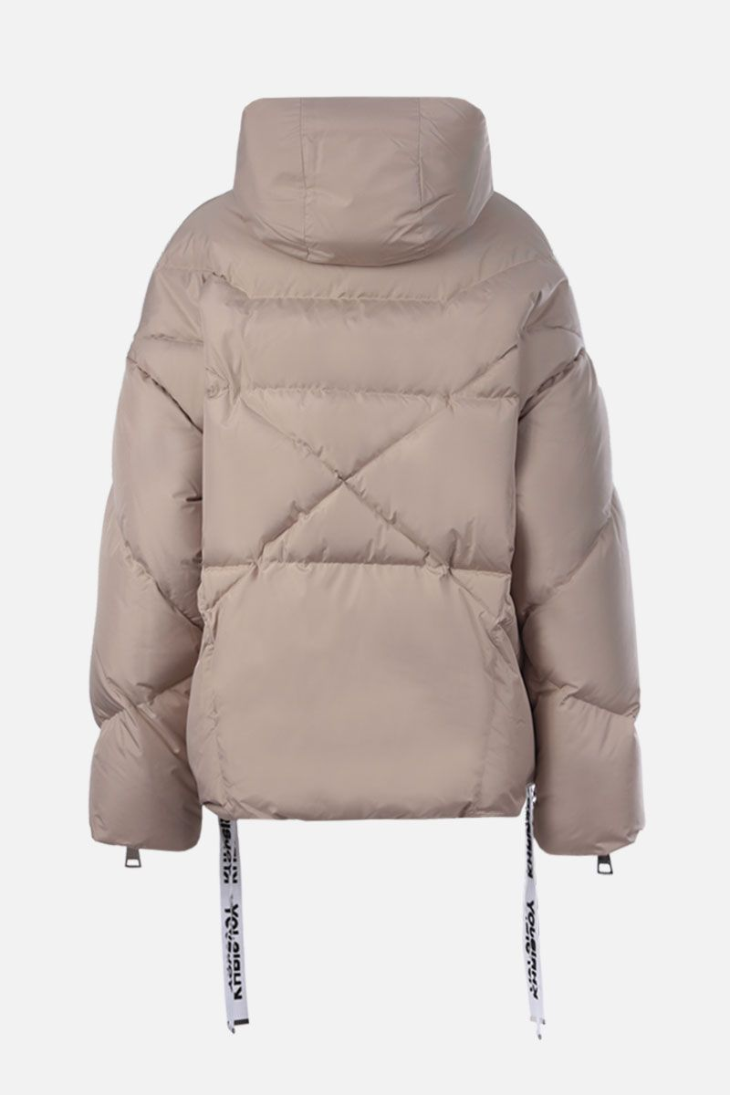 KHRISJOY: Khris nylon oversize puffer jacket Color Neutral_2