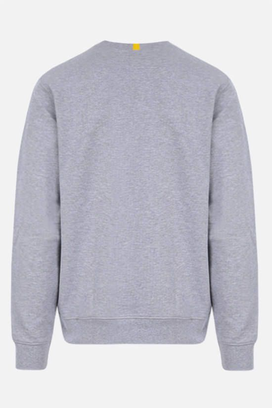 LACOSTE L!VE: logo patch jersey sweatshirt Color Grey_2