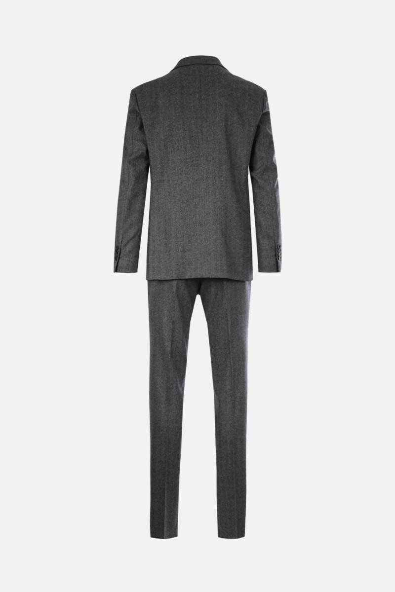 LARDINI: wool cashmere blend two-pieces suit Color Grey_2