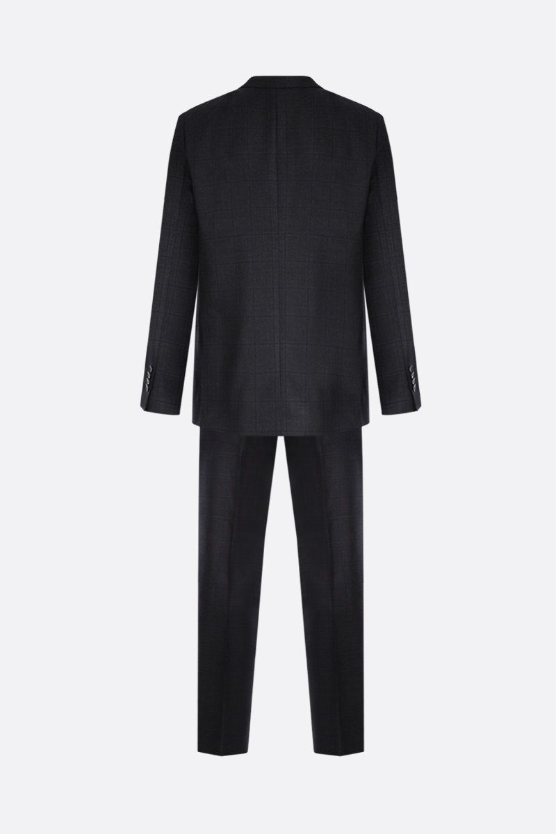 LARDINI: check wool two-pieces suit Color Multicolor_2