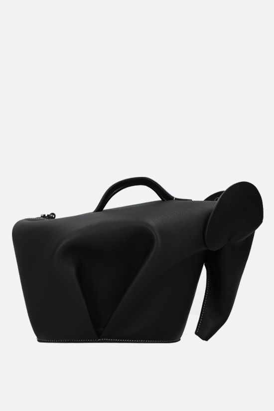 LOEWE: Elephant large handbag in Classic leather Color Black_1