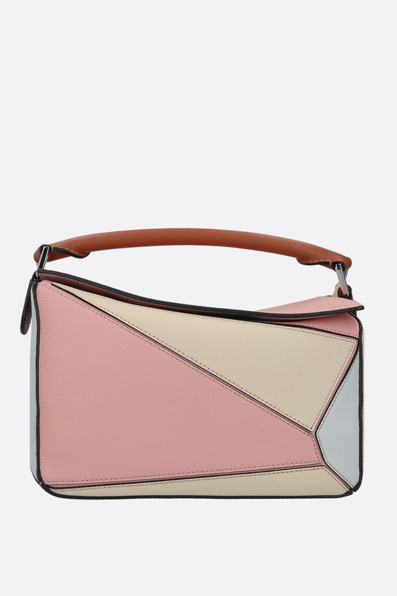 LOEWE: borsa a mano Puzzle small in pelle Classic_1