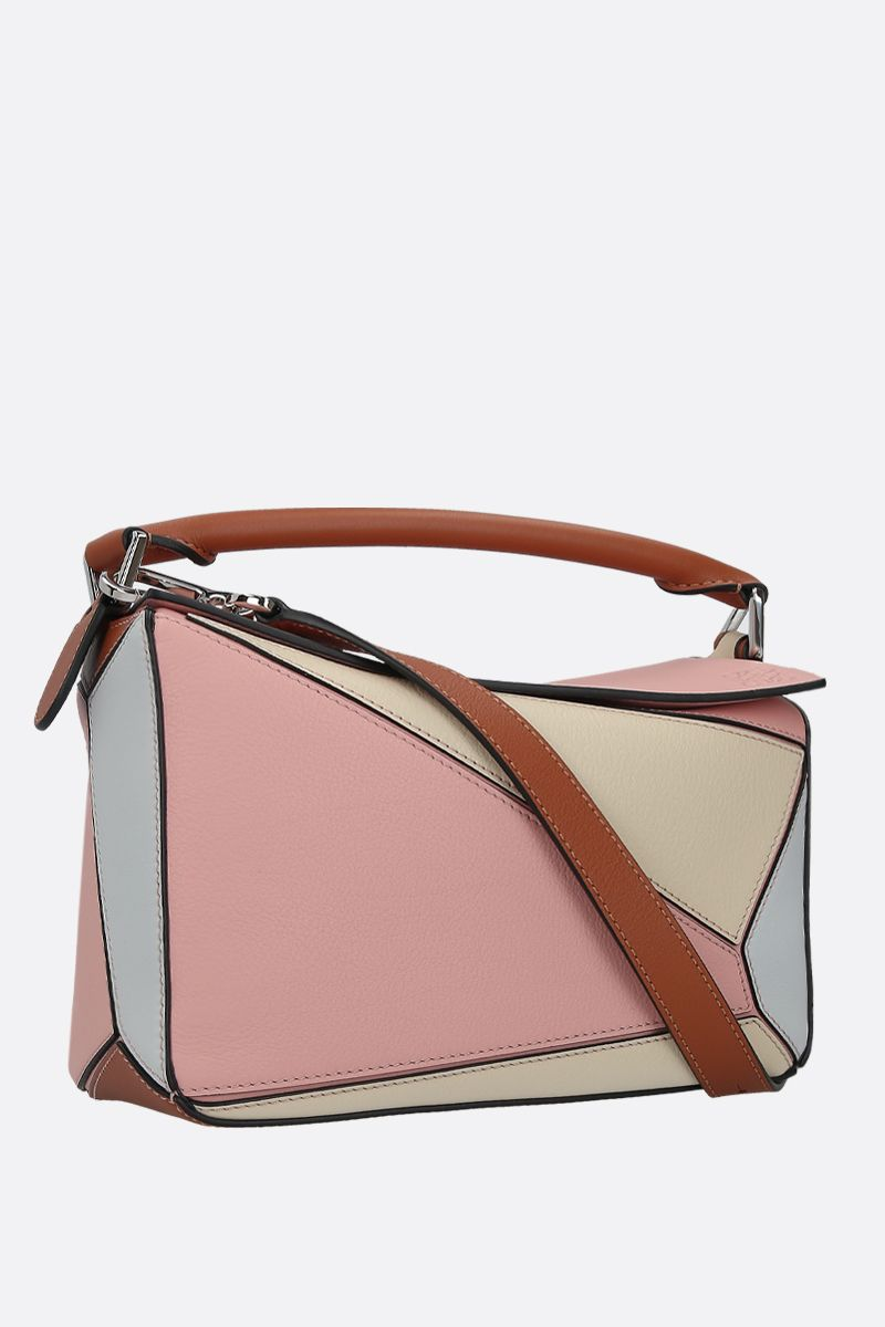 LOEWE: borsa a mano Puzzle small in pelle Classic_2