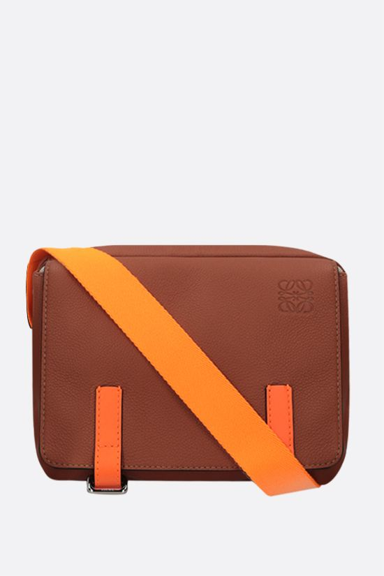 LOEWE: Military XS grainy leather messenger bag Color Multicolor_1