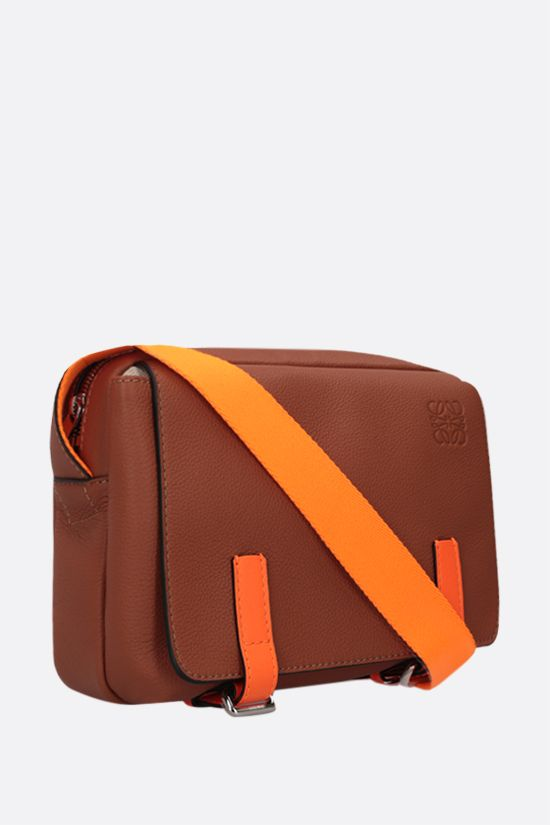 LOEWE: Military XS grainy leather messenger bag Color Multicolor_2