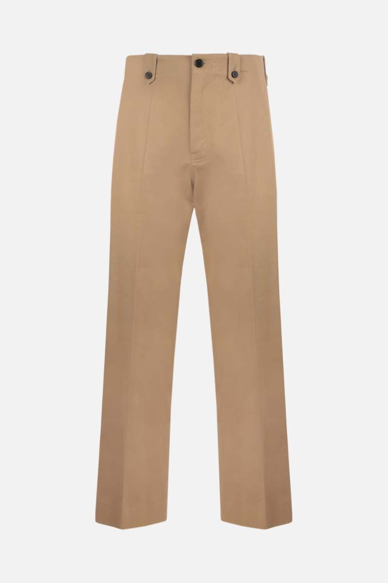 LOEWE: pantalone regular-fit in cotone Colore Neutro_1