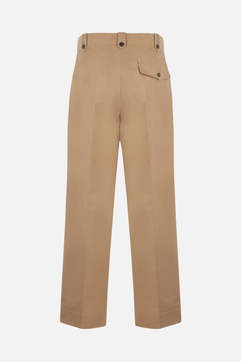 LOEWE: regular-fit cotton pants Color Neutral_2