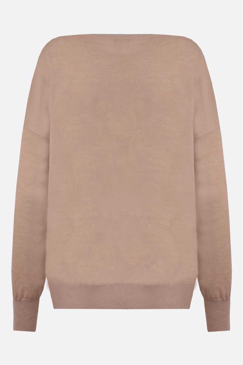 LOEWE: pullover in lana ricamo Anagram_2
