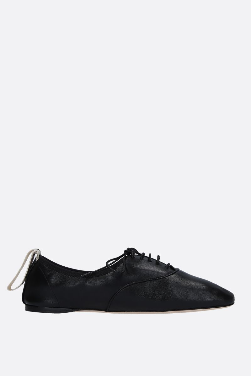 LOEWE: soft nappa derby shoes Color Black_1