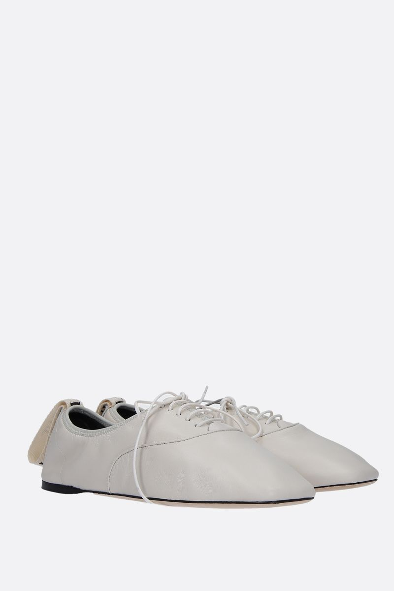 LOEWE: soft nappa derby shoes_2