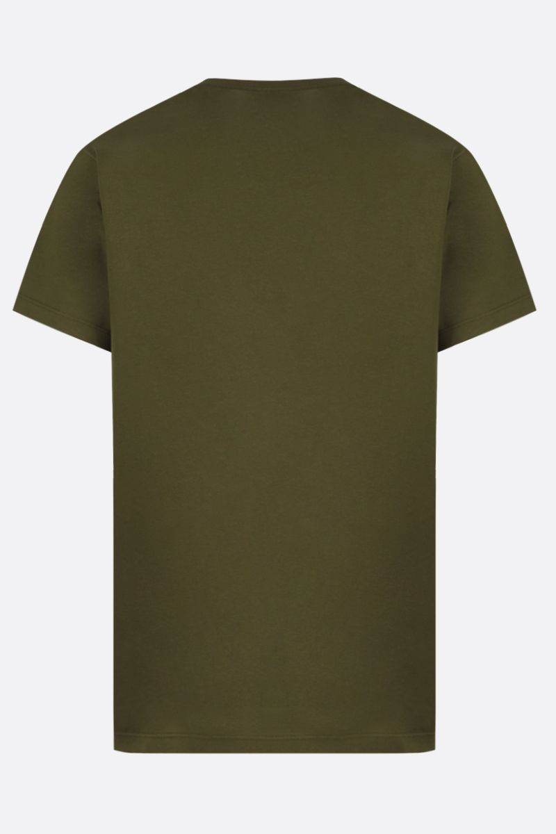 LOEWE: Anagram cotton t-shirt Color Green_2