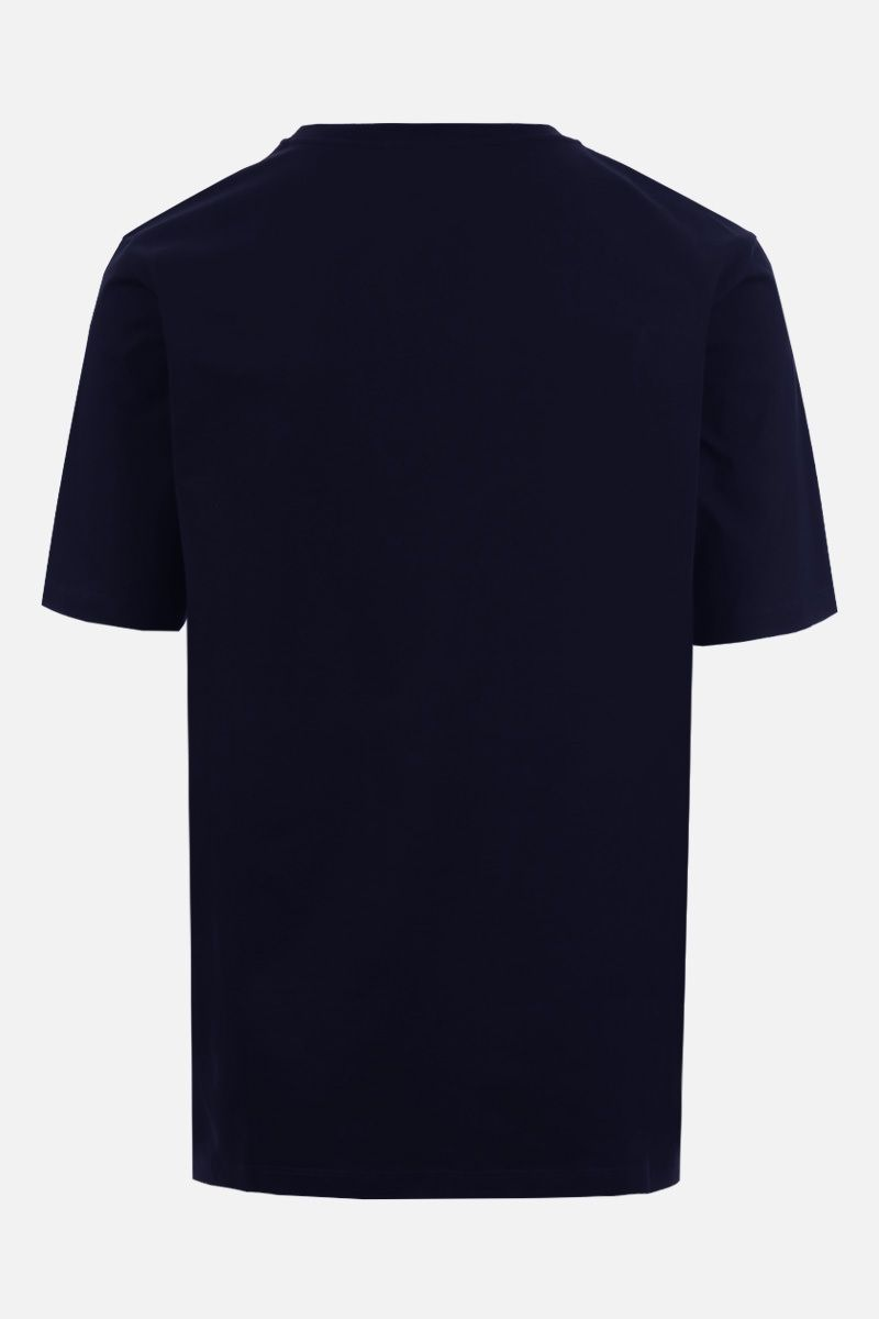 LOEWE: Anagram cotton t-shirt Color Blue_2