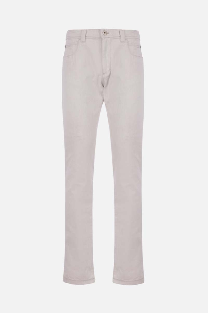 LORO PIANA: slim-fit jeans Color Neutral_1