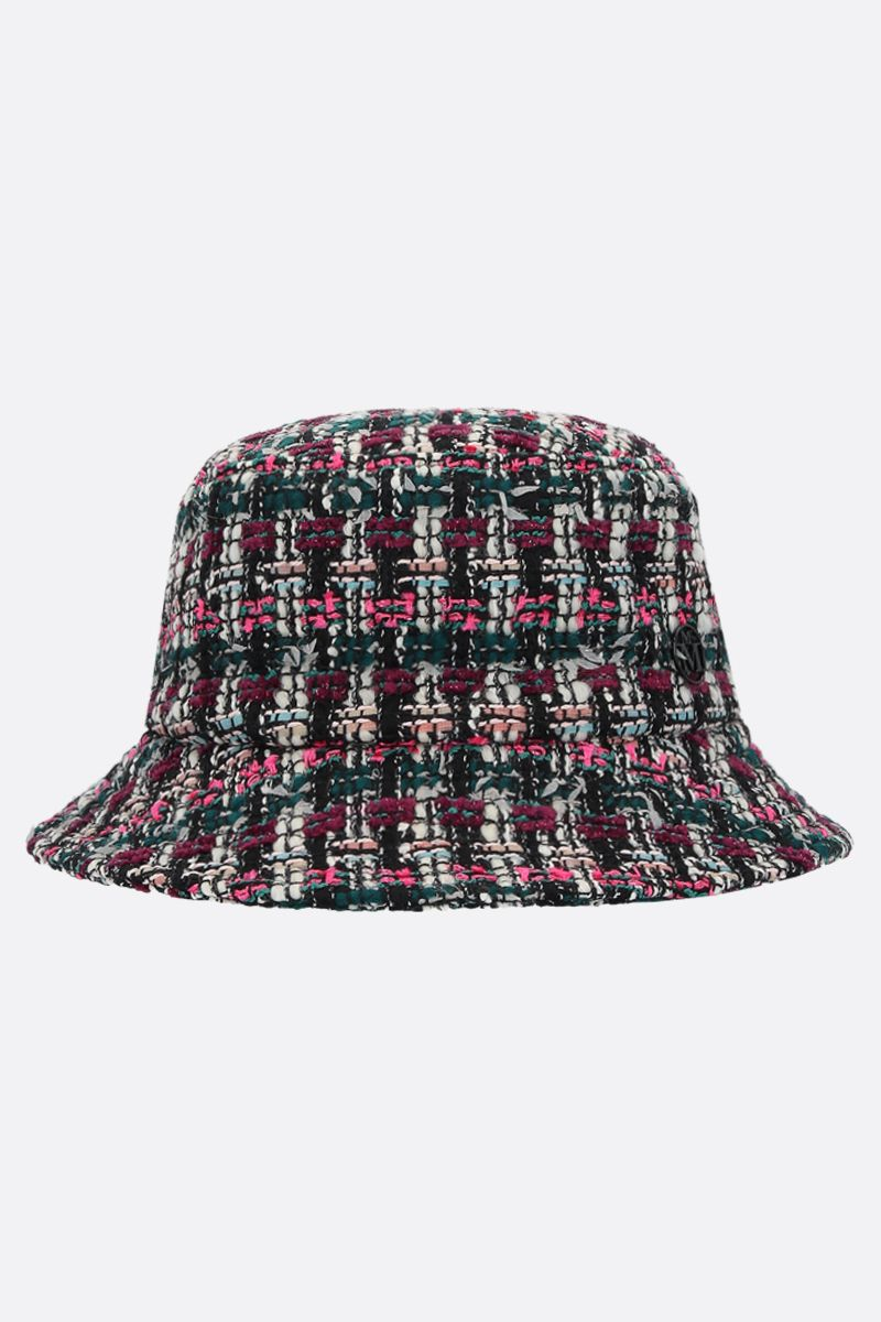 MAISON MICHEL: Jason tweed bucket hat_1