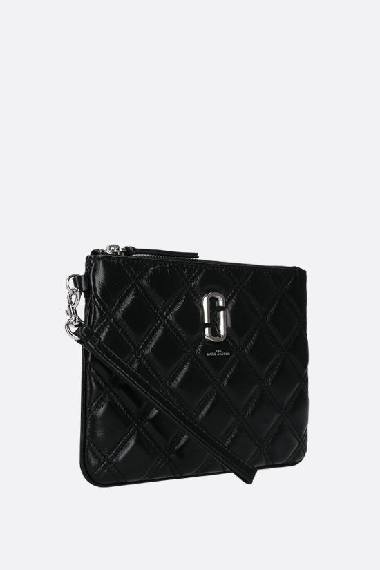 MARC JACOBS: quilted leather pouch Color Black_2