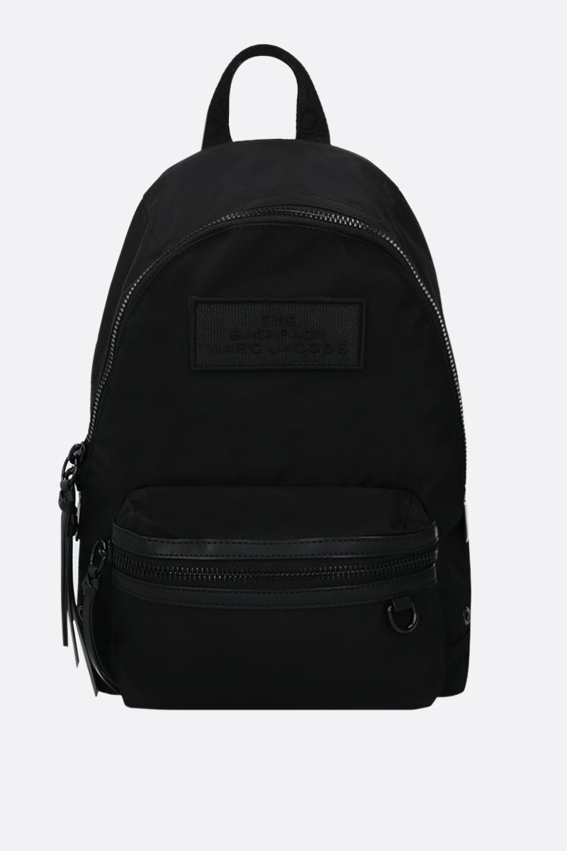 MARC JACOBS: nylon medium backpack Color Black_1