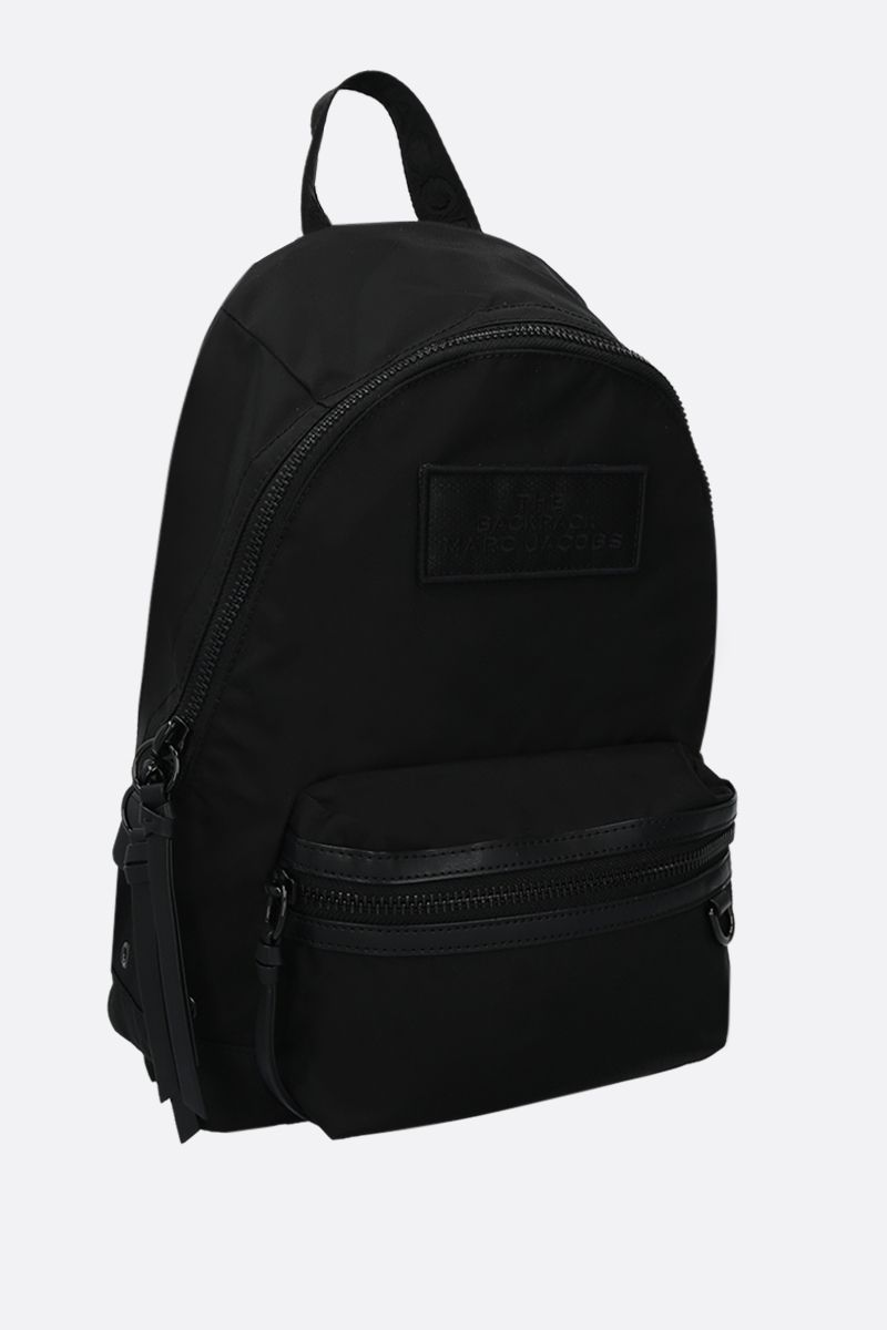 MARC JACOBS: nylon medium backpack Color Black_2