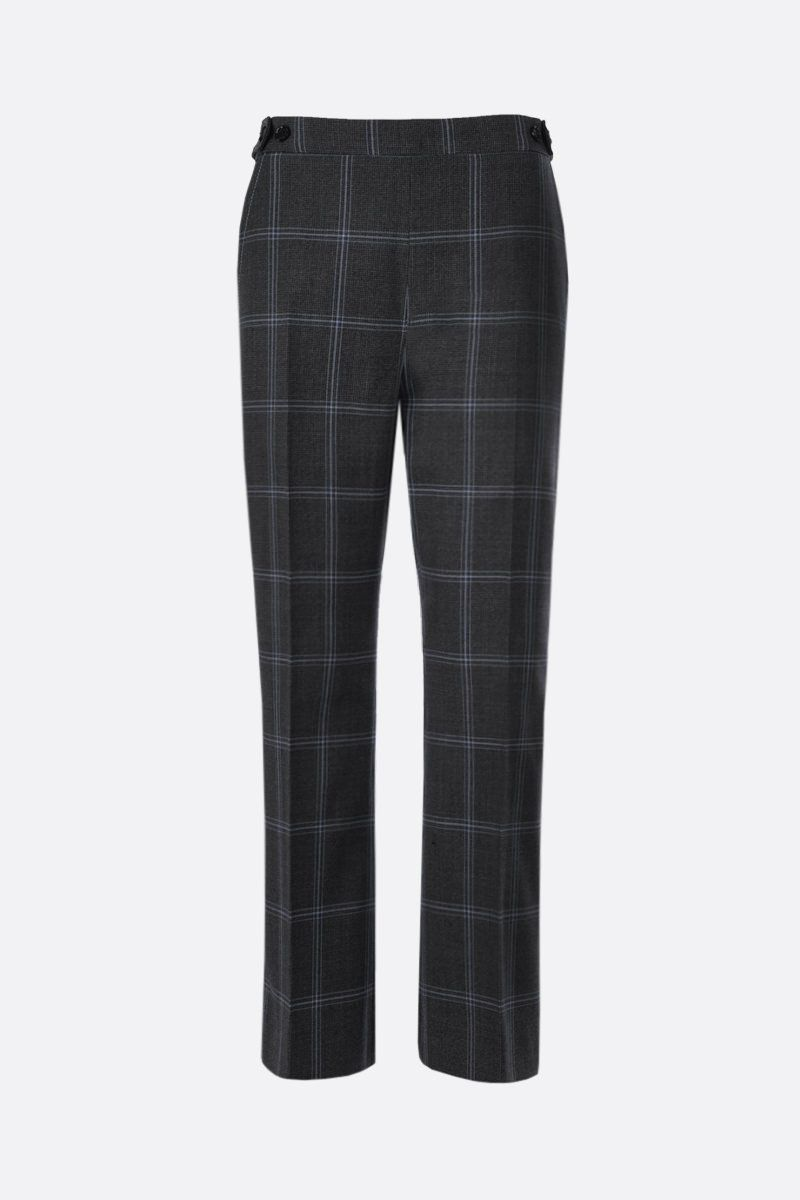 MARNI: prince of Wales wool cropped pants Color Grey_1