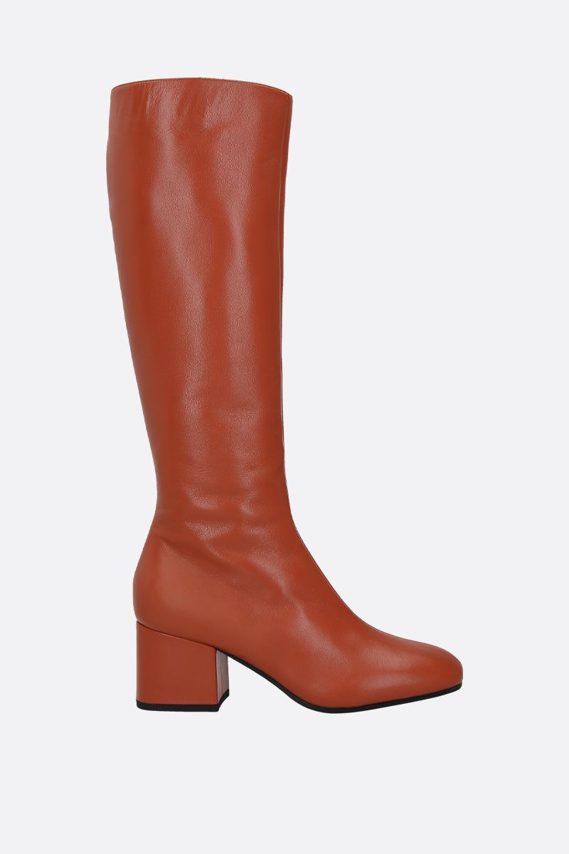 MARNI: nappa leather boots Color Brown_1