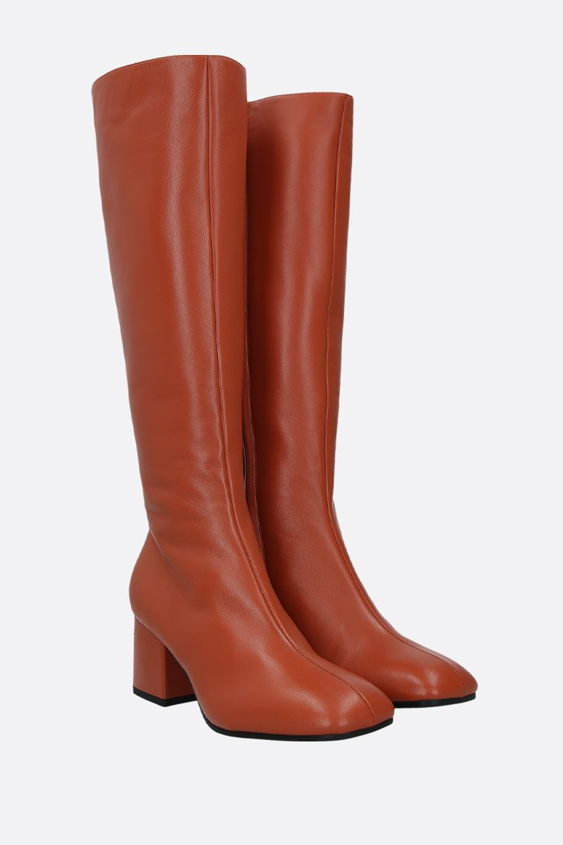 MARNI: nappa leather boots Color Brown_2