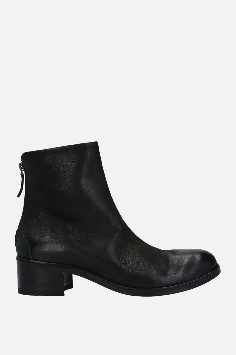 MARSELL: Listo nabuk ankle boots Color Black_1