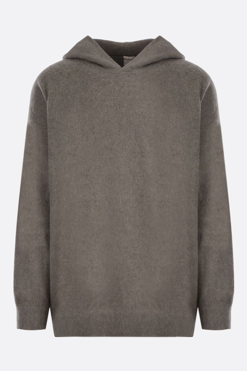 MASSIMO ALBA: cashmere hooded pullover Color Pink_1