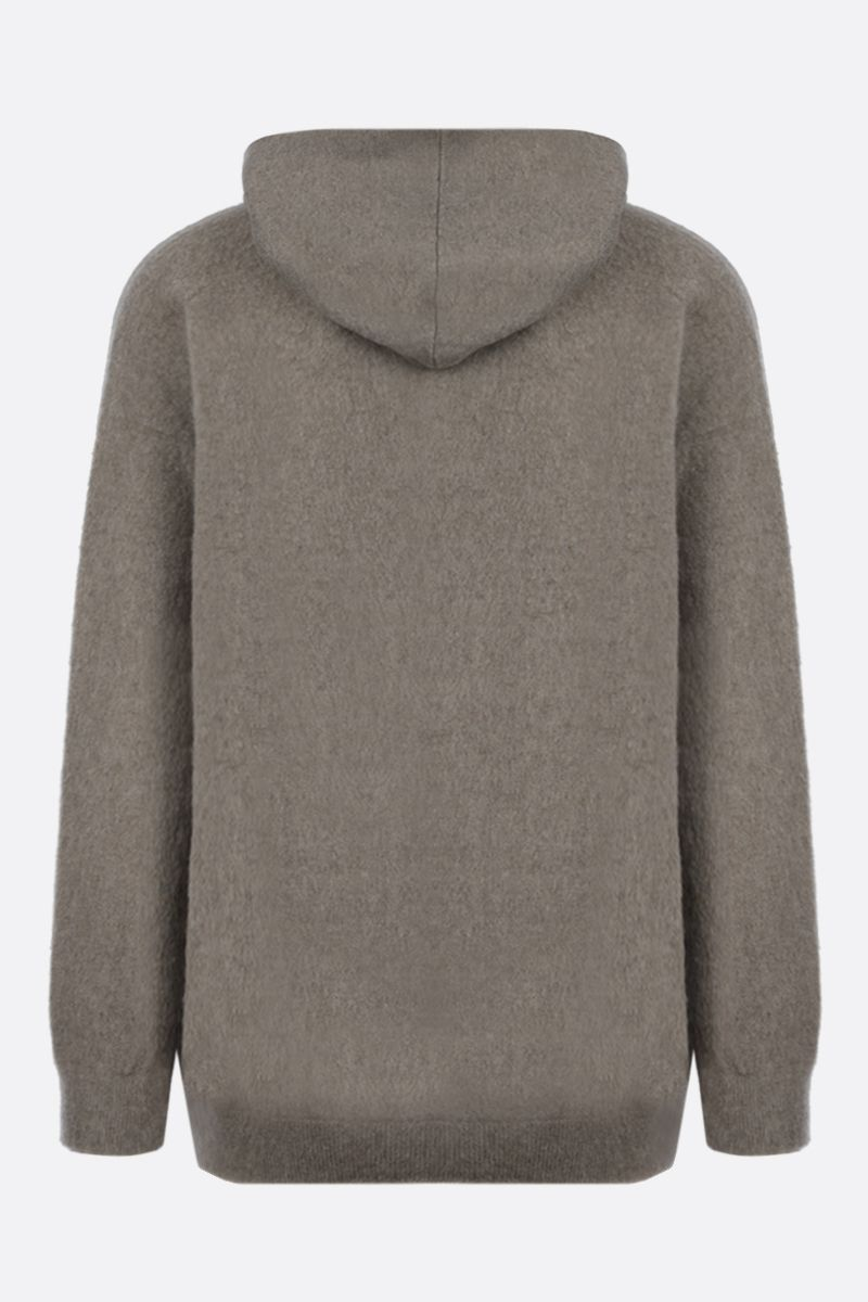 MASSIMO ALBA: cashmere hooded pullover Color Pink_2