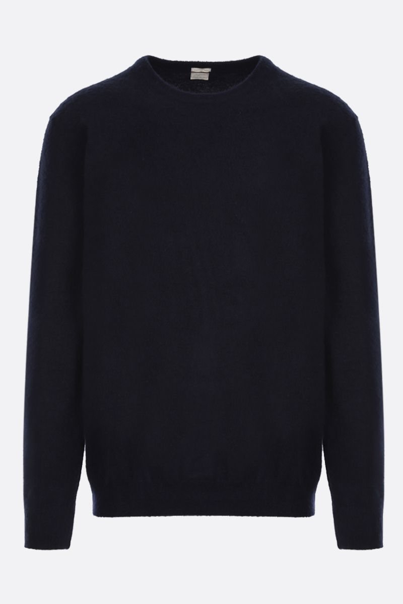 MASSIMO ALBA: cashmere loose-fit pullover Color Blue_1