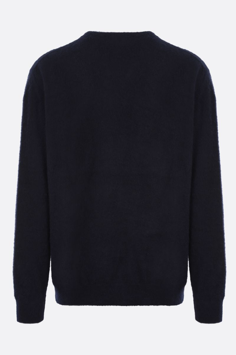 MASSIMO ALBA: cashmere loose-fit pullover Color Blue_2