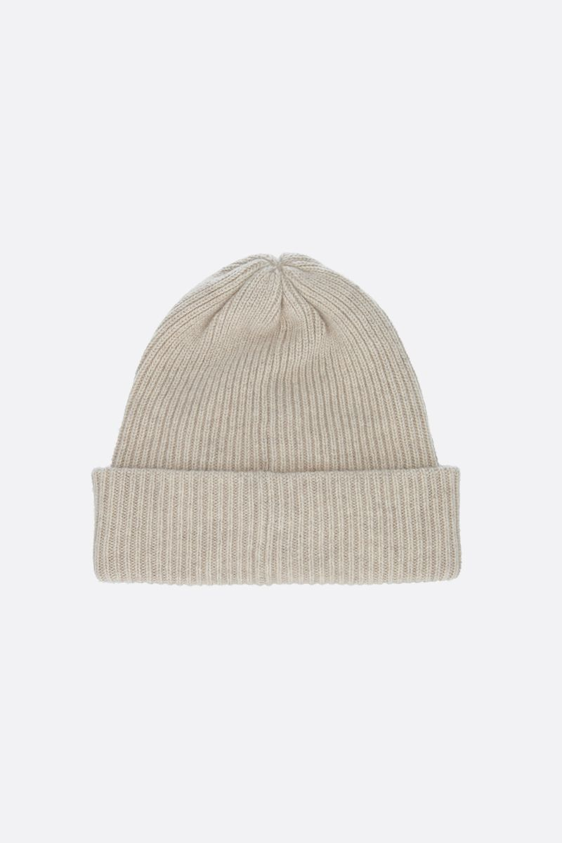 MAX MARA: Rotondo cashmere beanie Color Neutral_1