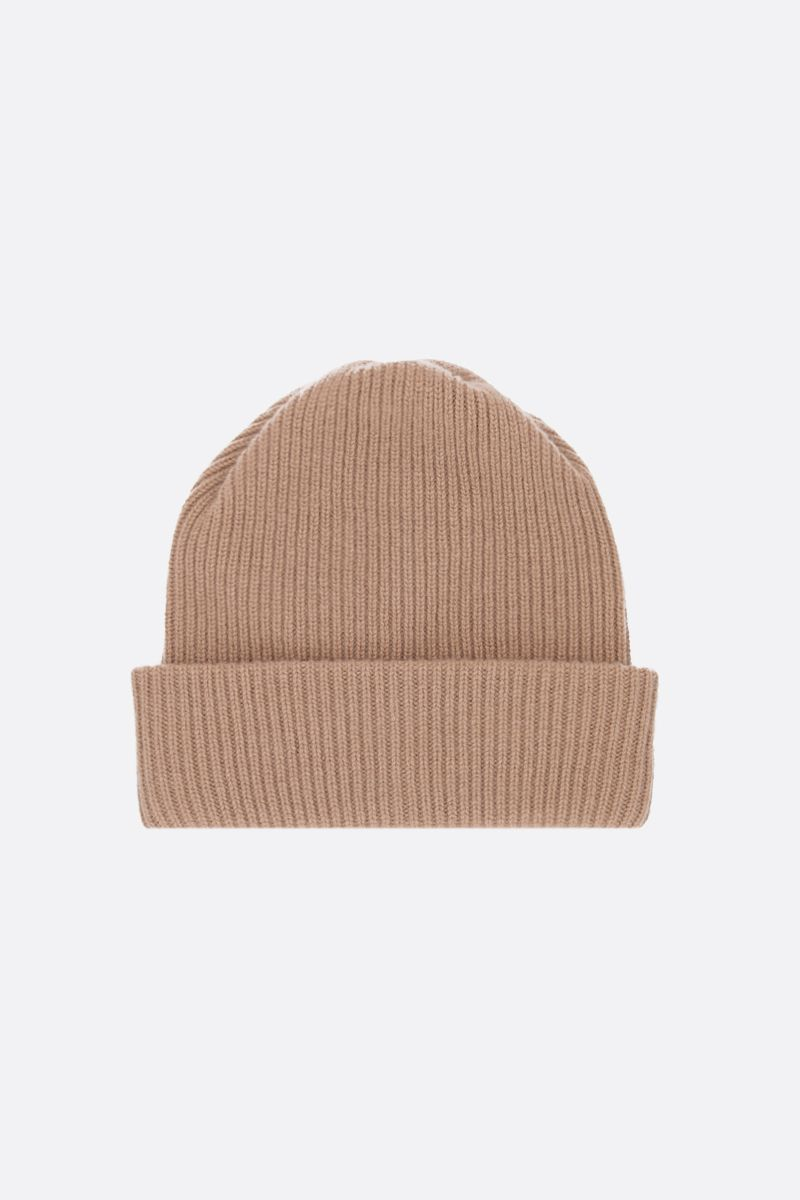MAX MARA: Rotondo cashmere beanie Color Brown_1