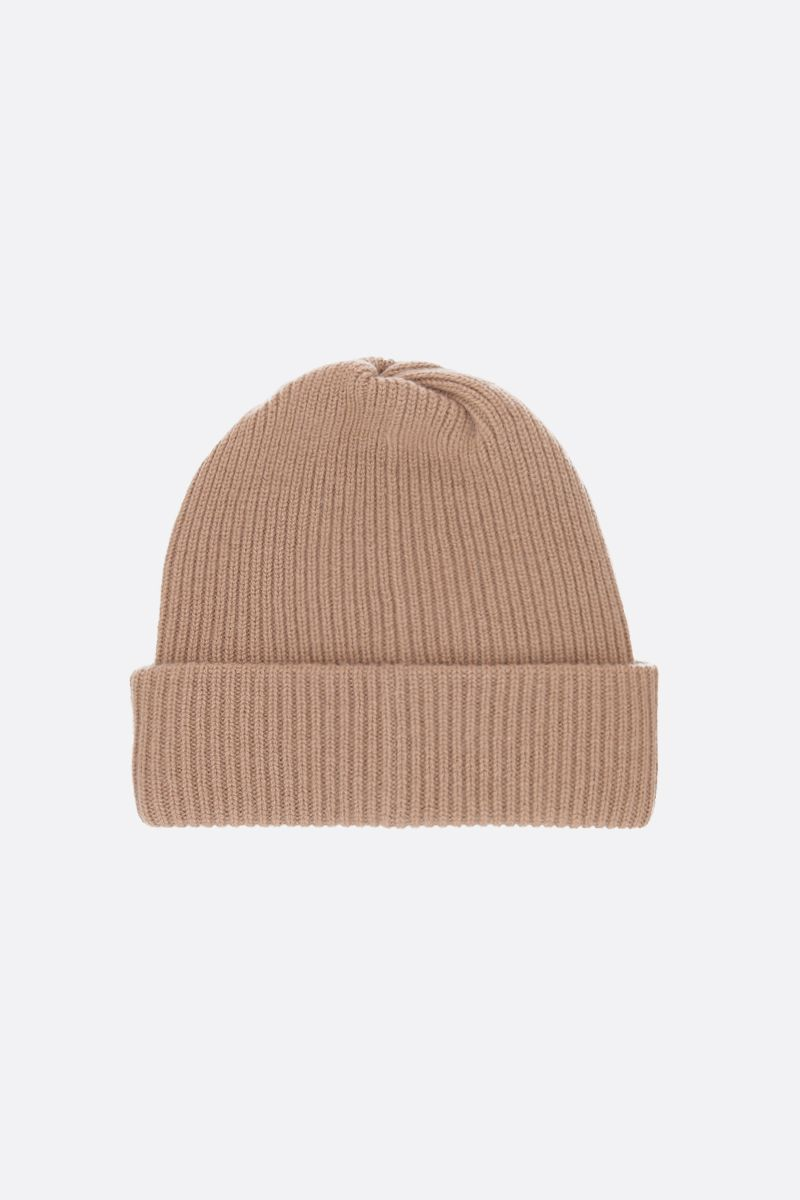 MAX MARA: Rotondo cashmere beanie Color Brown_2